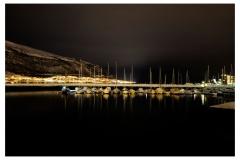 Troms bei Nacht